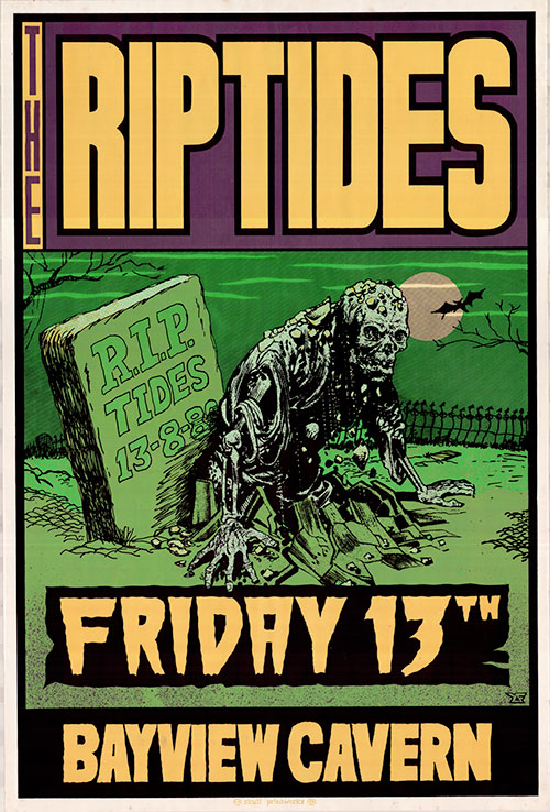 Black Friday Poster Riptides