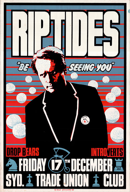 Be seeing you Ritptides poster