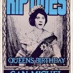 Controversial Queens Birthday poster featuring Molly Meldrum